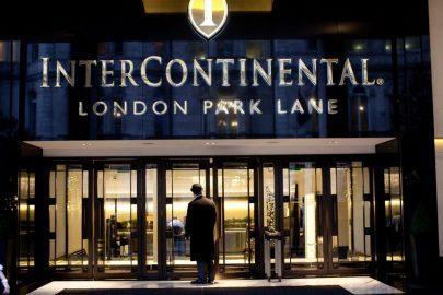 intercontinental hotel london