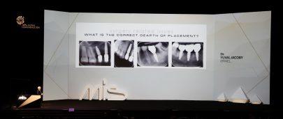 MIS presentation on stage
