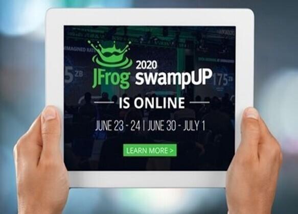 new JFROG banner